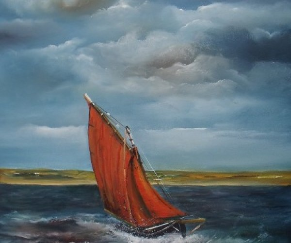 Archives - select past works, Crashing the Atlantic Galway Hooker