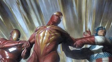 Civil_War_Iron Man_Captain America_Iron Spider