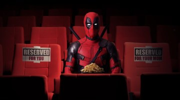 Deadpool movie slider