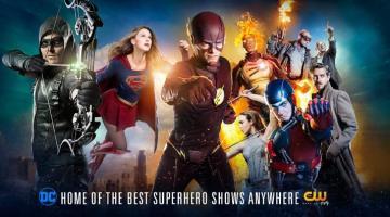 CW DC Comics Slider