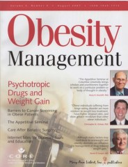 Obesity Management [8-1-2007] Cover Pho