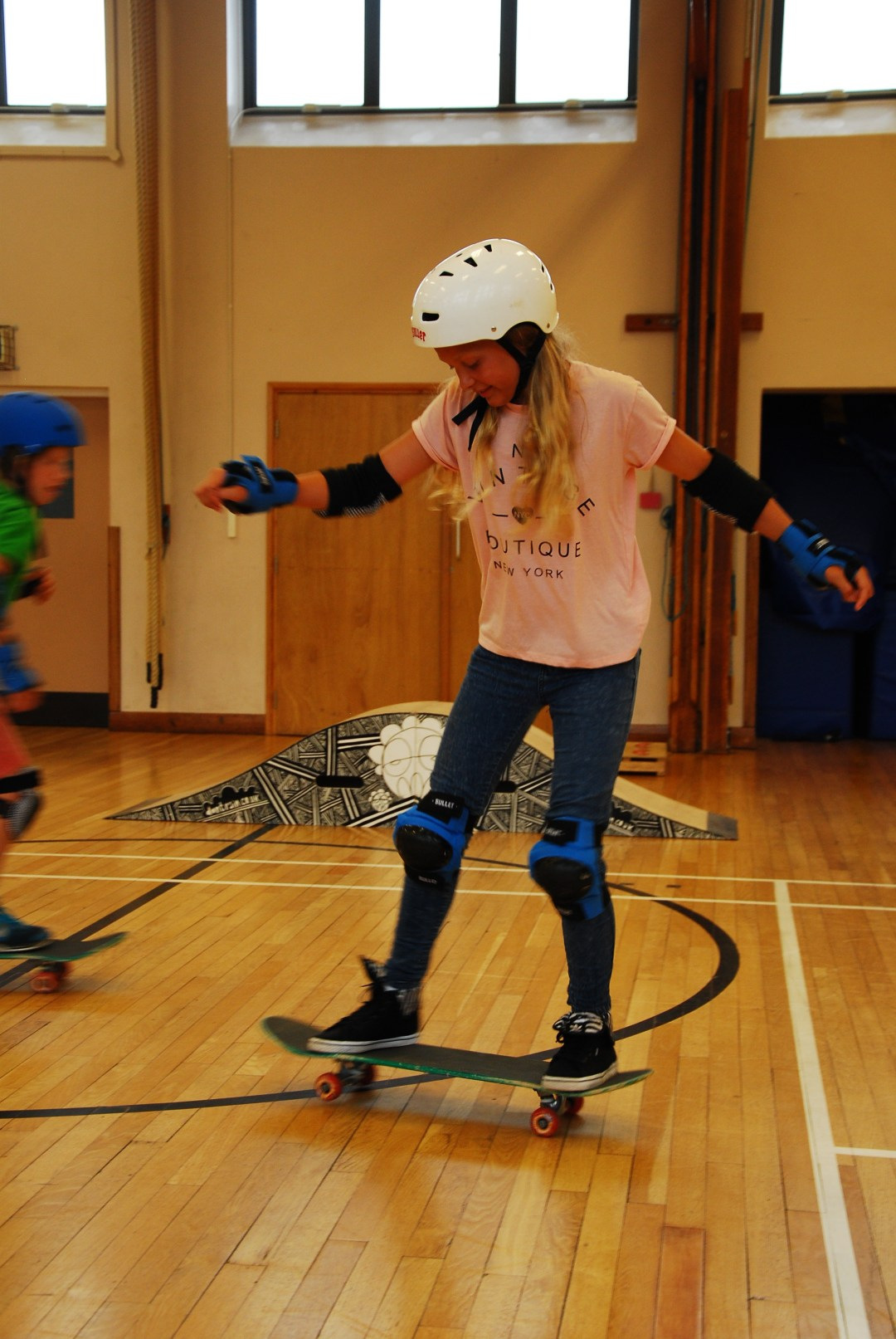 Don't Rain Skateboard instructing Priestlands - activities week Hampshire UK