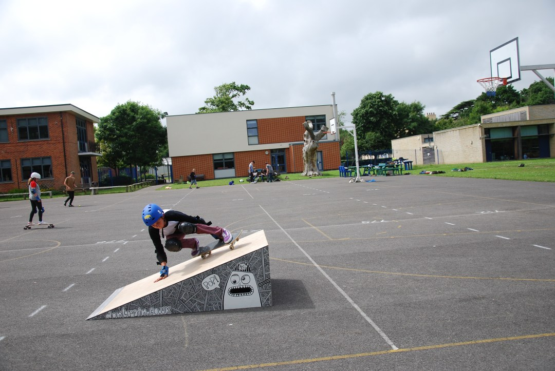 Don't Rain Skateboard lessons Priestlands - activities week Hampshire UK
