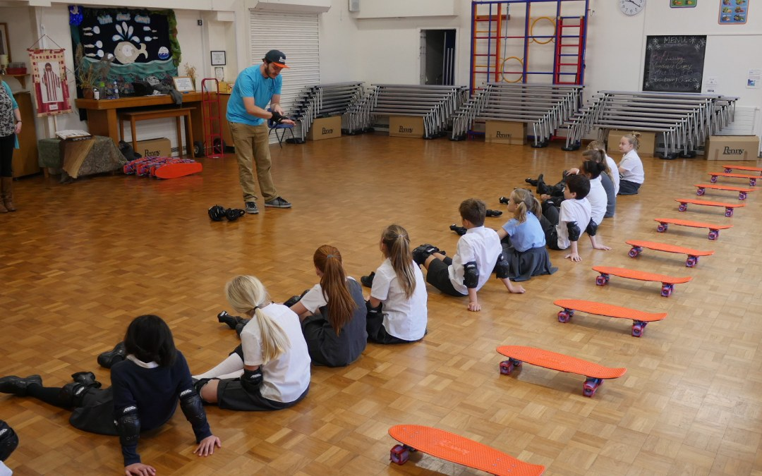 St Josephs Primary School // Penny Skate School