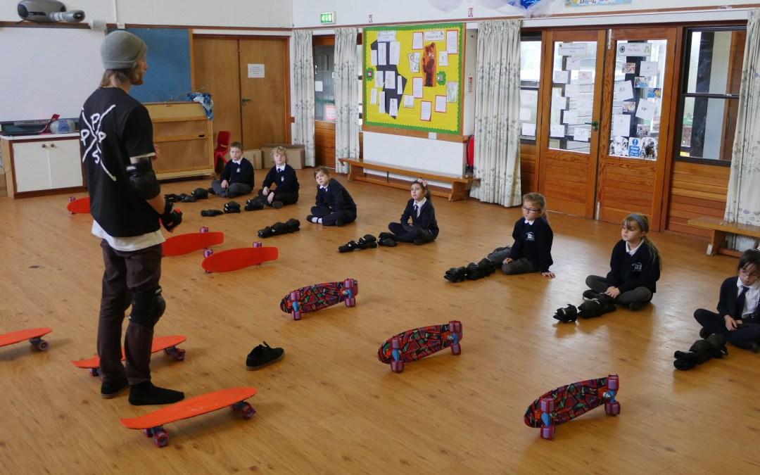 Brading Primary School // Penny Skate school