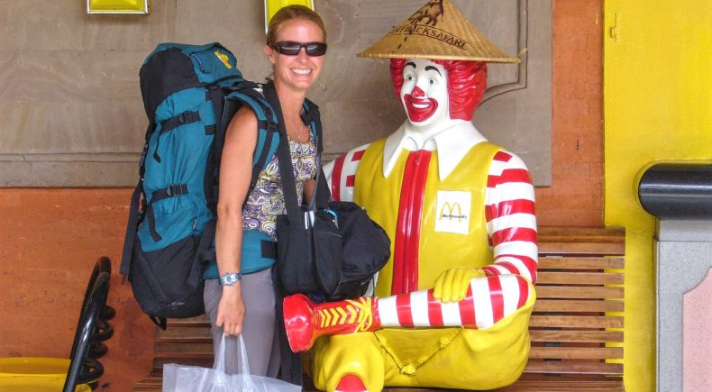 Shani in Bali with Ronald