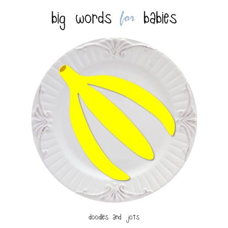 big words for babies - surmise