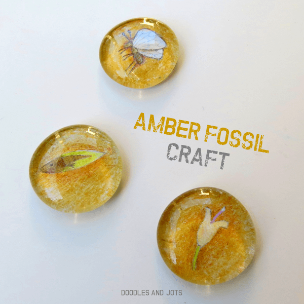 Amber Fossil Craft