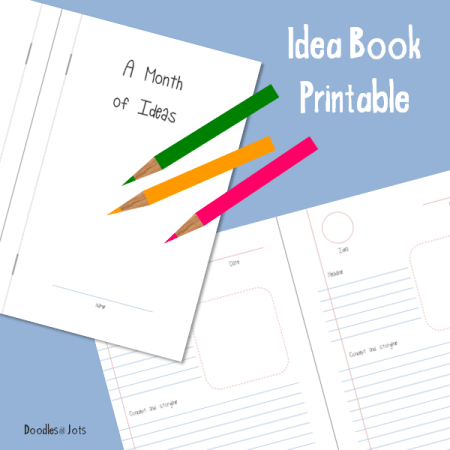 Idea Book Printable