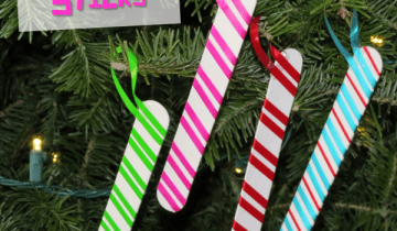 peppermint stick craft