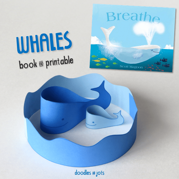 whales book printable