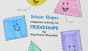 Scissor Shapes Printable