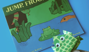 Frog Book and Craft