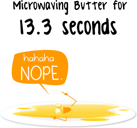 Microwaving Butter | The Oatmeal