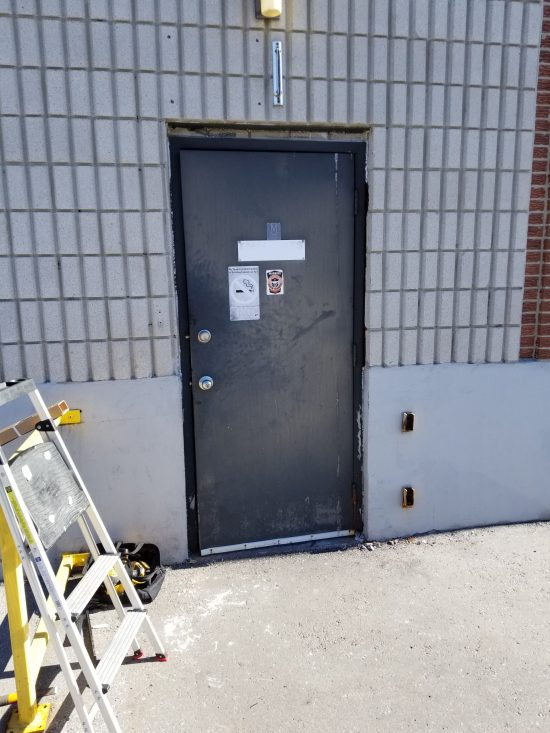 Store front door repair services