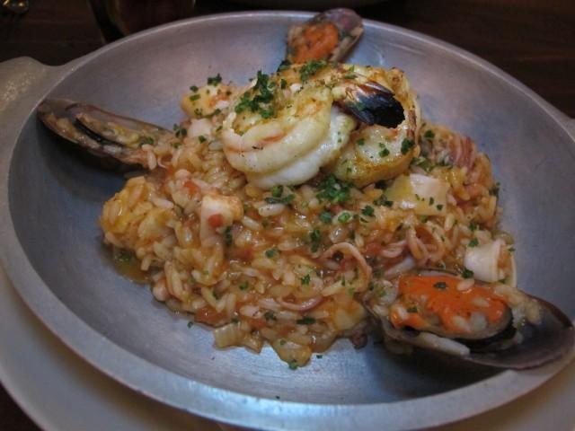 arroz caldoso adega santiago