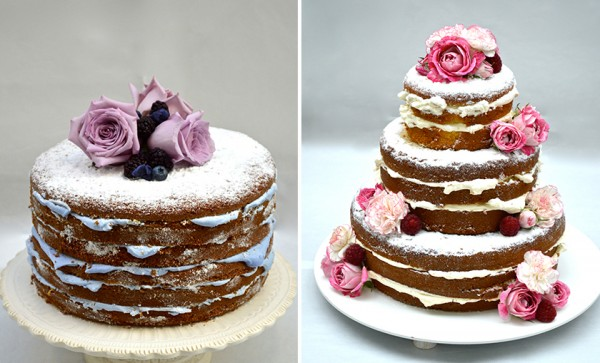 Naked Cake do Le Jardin Secret