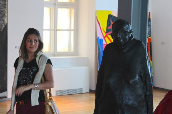 Escultura do museu Kampa
