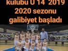 2019-2020 U14 ilk galibiyeti