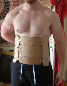 Dothraki girdle mock-up made by Bryce Homick (image by Bryce Homick).
