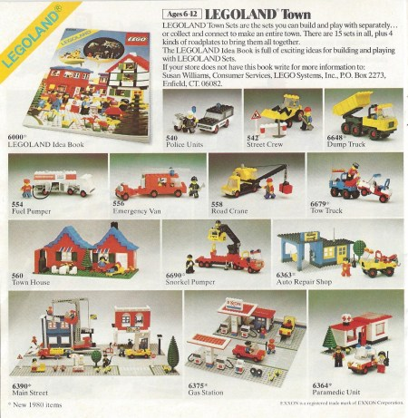 Let's Enjoy A Look Back at the 1980 LEGO Assortment Guide ...
