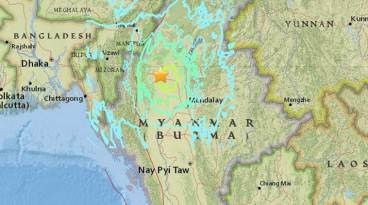 Myanmar Earthquake on 13th/14th April 2016 magnitude 6.9 Latest Pictures, Pics, Videos, Photos