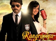 'Rangrasiya' was originally aired on the popular Colours Tv in now replicated on Rishtey Tv