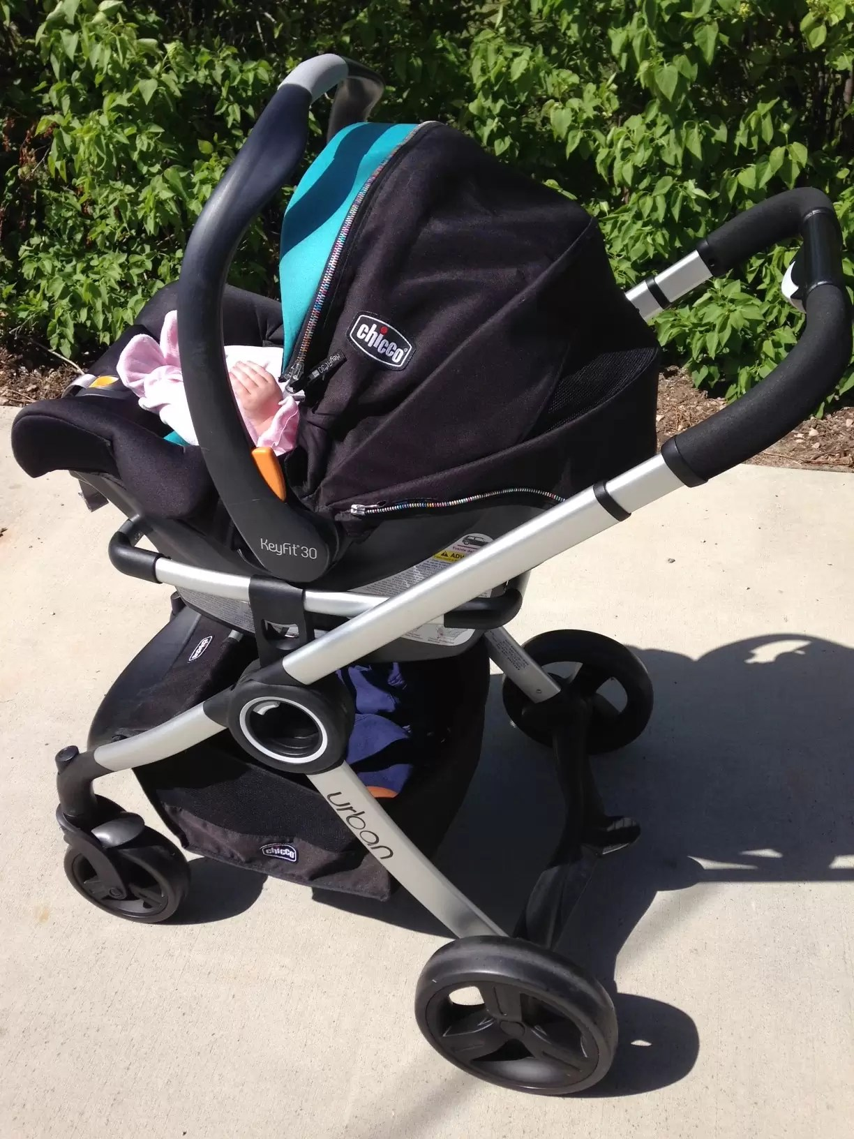 Chicco Keyfit  Zip Car Seat And Stroller