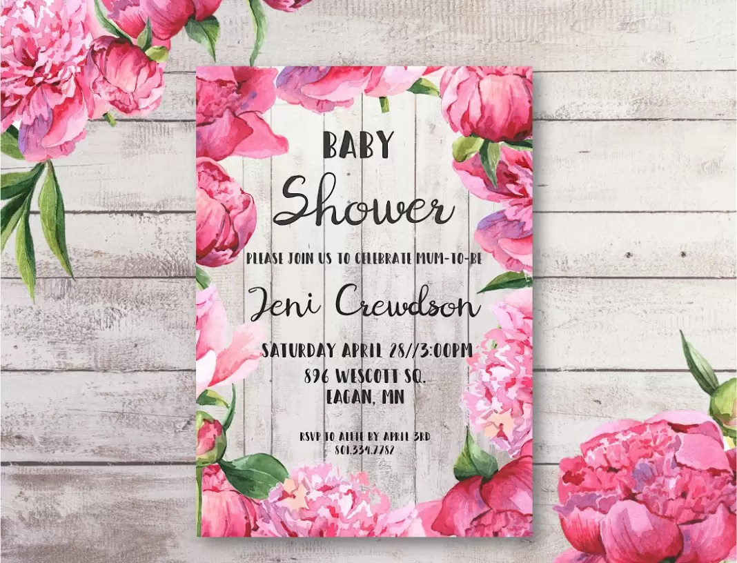 Free baby shower printables double the batch for Free printable baby shower invitations templates