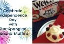 Star Spangled Banana Muffins