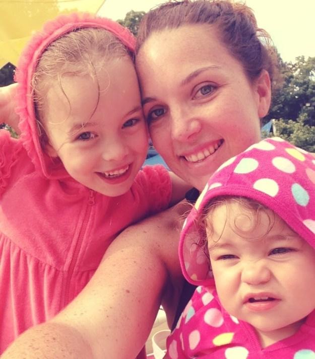 Selfie + kids
