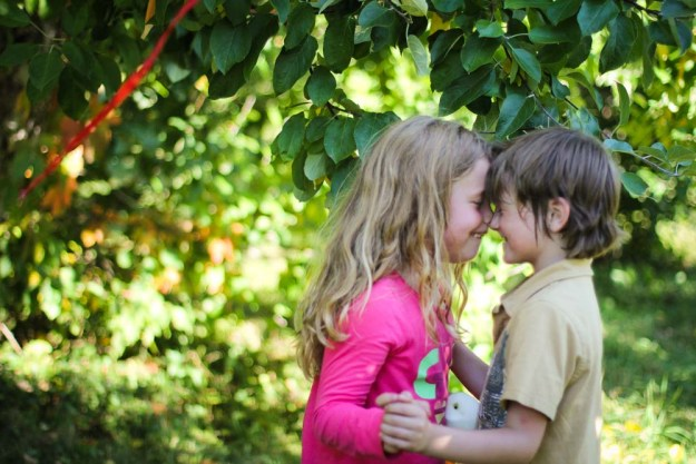 Eskimos Kisses in the Orchard