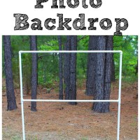 $10 and 10 Minutes for a DIY Photo Backdrop