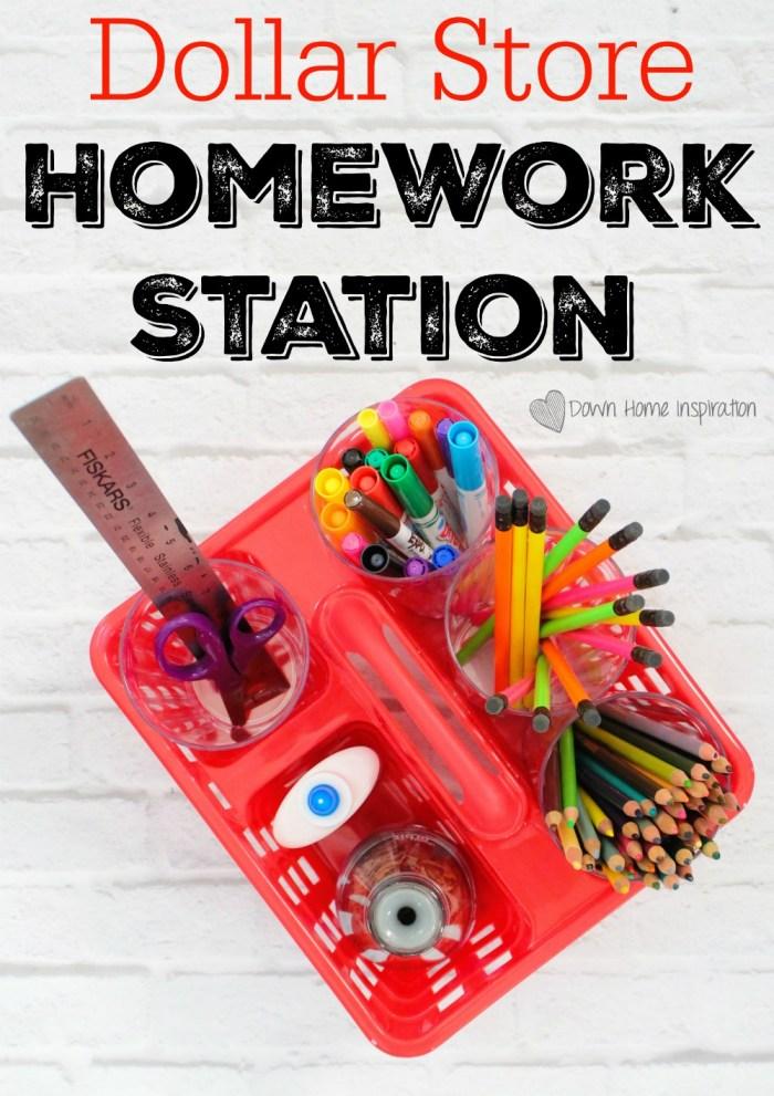 mobile homework station