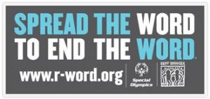 SpreadTheWord The R-Word Campaign