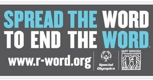 Take the pledge today to spread the word to end the word