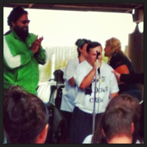 Chakraborty & DeSanctis at 2013 DSL Walk