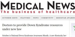 Medical News Down Syndrome Information Act