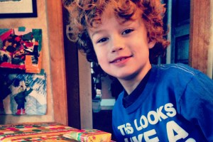 Our story: our son turns eight years old