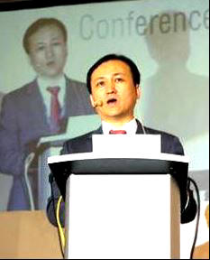 Gilbert Chae speaking