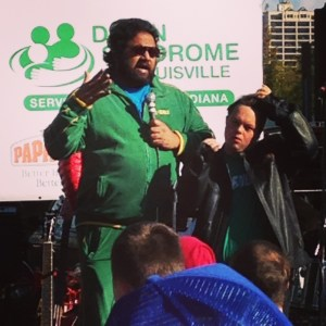 Chakraborty & DeSanctis at 2014 DSL Walk