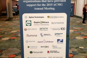 Photo tour of ACMG 2015