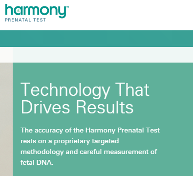Harmony fetal DNA measure