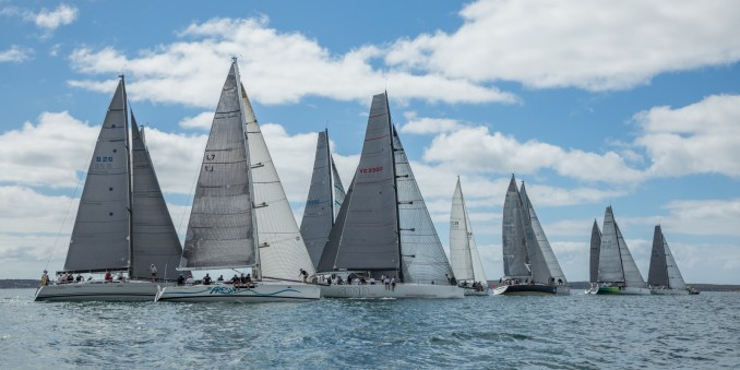 Division one racing on Boston Bay. Photos: Take 2 Photography