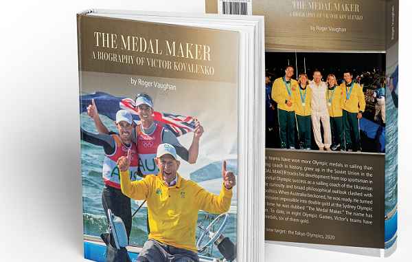 'The Medal Maker' book cover low res