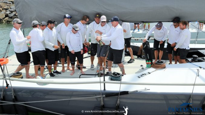 Matt Allen's Ichi Ban was the Div 1 winner of the Australian Yachting Championship. ALL PHOTOS: Adventures of a Sailor Girl.