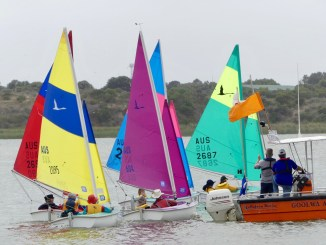 The Sailability racing was tight and competitive. Photo: Chris Caffin