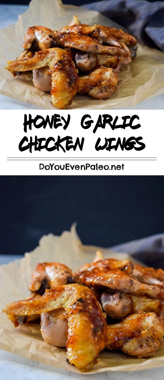 Sticky-Sweet Honey Garlic Chicken Wings | DoYouEvenPaleo.net