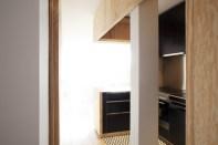 rooftop open kitchen