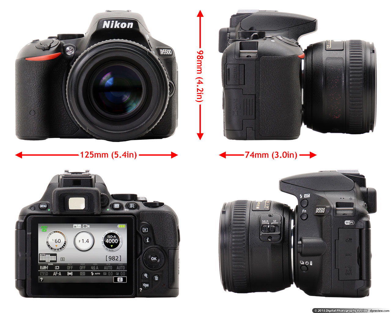 Fullsize Of Nikon D5500 Body Only